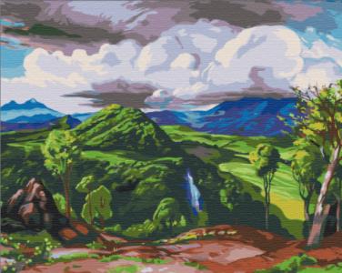 Картины по номерам Долина Пихуамо. Доктор Атл, Херардо Мурильо