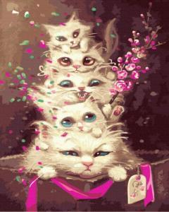 Картины по номерам Эмоциональные котята