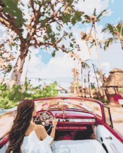 Картины по номерам Улицами Кубы
