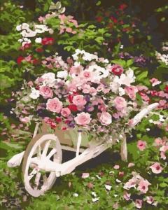 Картины по номерам Розовый куст