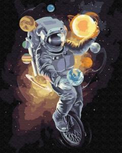 Картины по номерам Космический жонглер