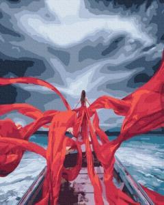 Картины по номерам Красные нити любви