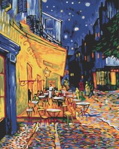 Картины по номерам Ночное кафе в Арле. Ван Гог