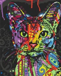 Картины по номерам Абиссинская кошка