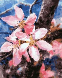 Картины по номерам Цветение яблони