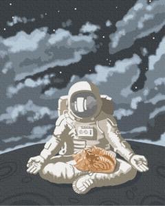 Картины по номерам Космическое спокойствие