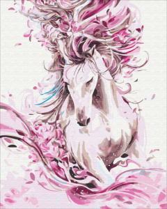 Картины по номерам Изящная лошадь