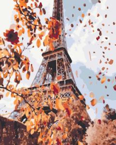 Картины по номерам Осень в Париже