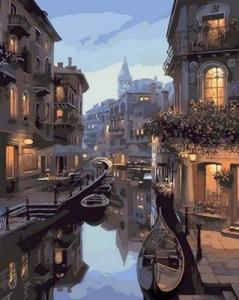 Картины по номерам Ночные каналы Венеции