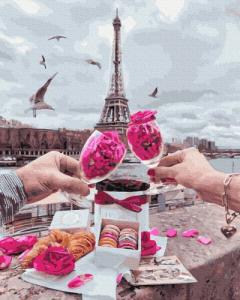 Картины по номерам Пикник в Париже