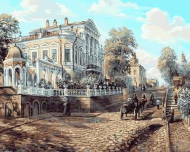 Картины по номерам Пермь. Дом Мешкова, XIX век