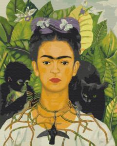 Картины по номерам Фрида Кало. Автопортрет