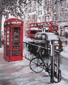 Картины по номерам Краски Лондона