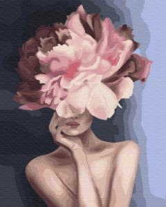 Картины по номерам Изящный цветок