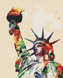 Картины по номерам Краски свободы