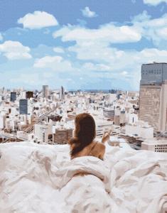 Картины по номерам Утро в большом городе