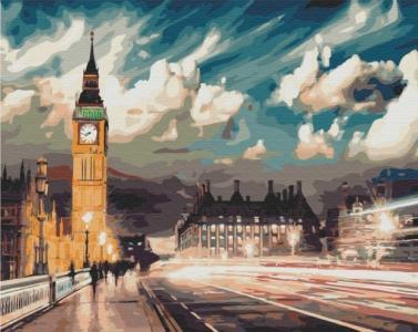 Картины по номерам Сумерки над Лондоном