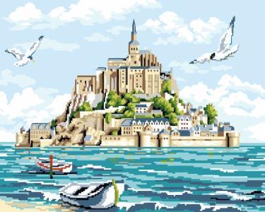 Картины по номерам Мон-Сен-Мишель