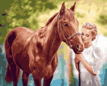 Картины по номерам Красота и нежность