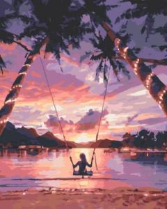 Картины по номерам Райское наслаждение