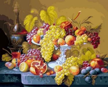 Картины по номерам Роскошный виноград
