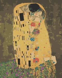 Картины по номерам «Поцелуй» Густава Климта