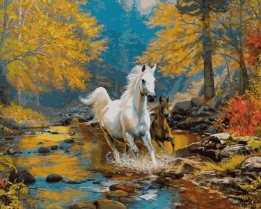 Картины по номерам Первая осень