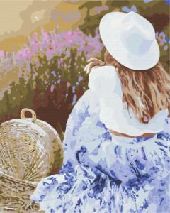Картины по номерам Любимая лаванда