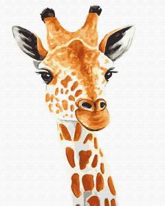Картины по номерам Жираф