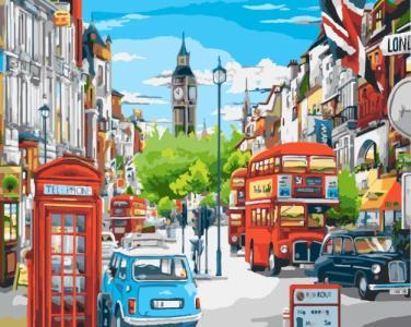 Картины по номерам Лондонский полдень
