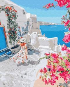 Картины по номерам Цветущая Греция