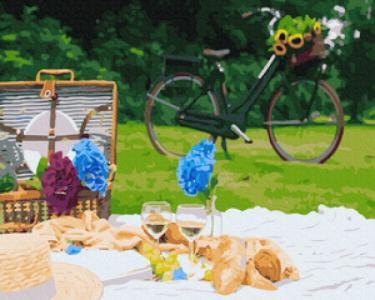 Картины по номерам Пикник в парке