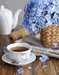 Картины по номерам Чашечка весны