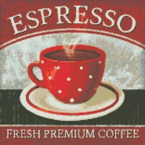 Алмазная мозаика Премиум кофе