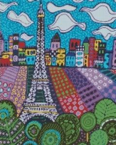 Алмазная мозаика Облака в Париже