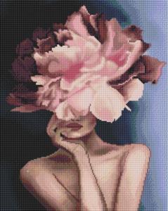 Алмазная мозаика Изящный цветочек
