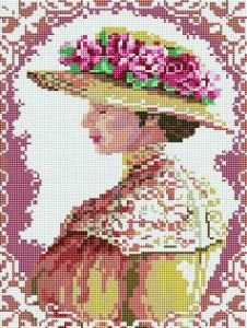 Алмазная мозаика Аристократическая дама
