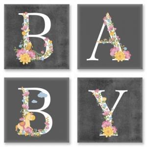 Модульные картины BABY Лофт