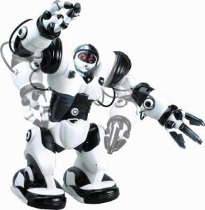 Подарки детям Робот на р/у 28091 (Бело-черный)