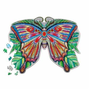 Деревянные пазлы Бабочка