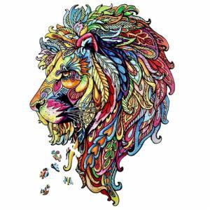 Деревянные пазлы Волшебный лев
